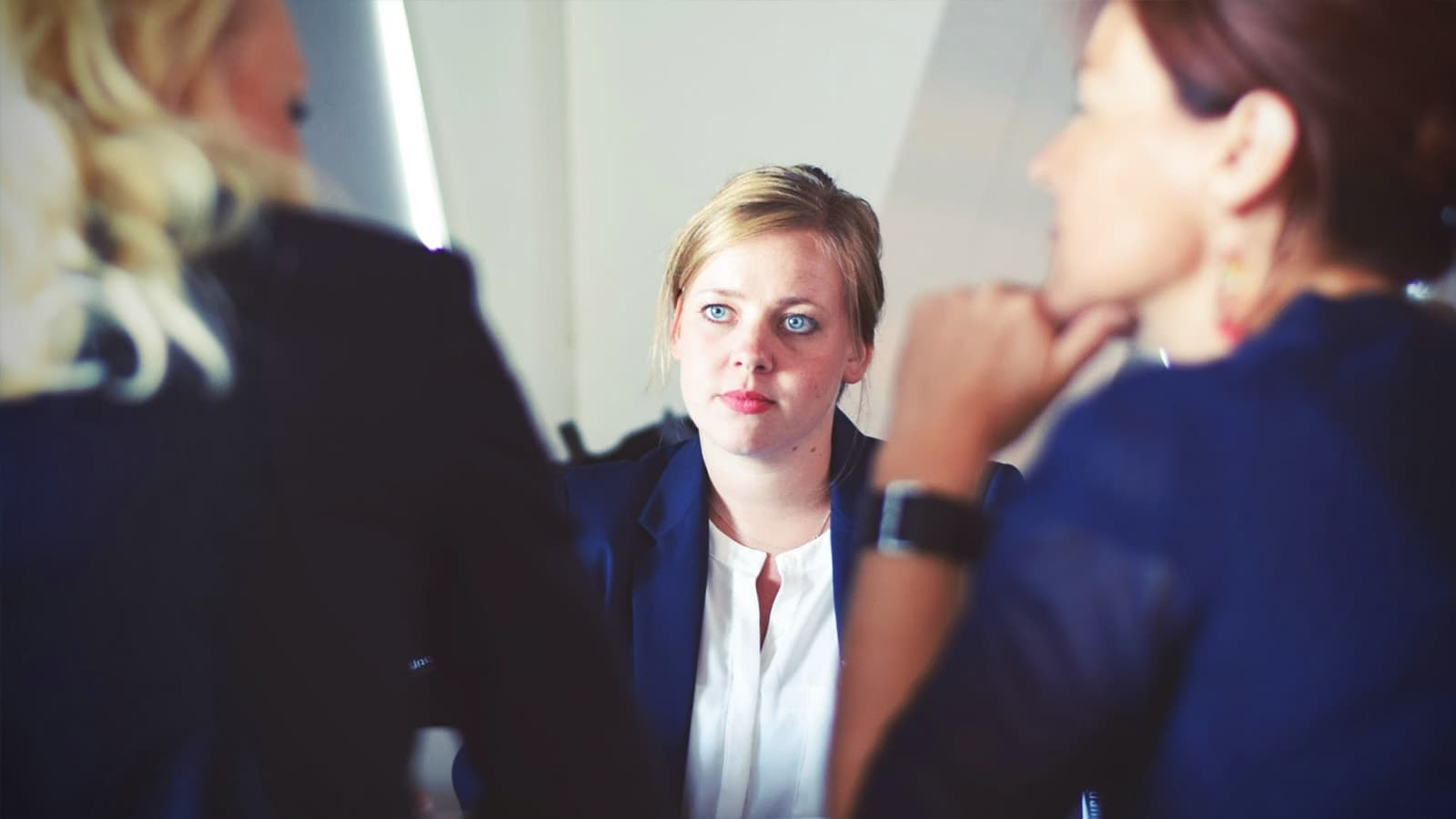 Berufliche Neuorientierung - Bewerbungsgespräch