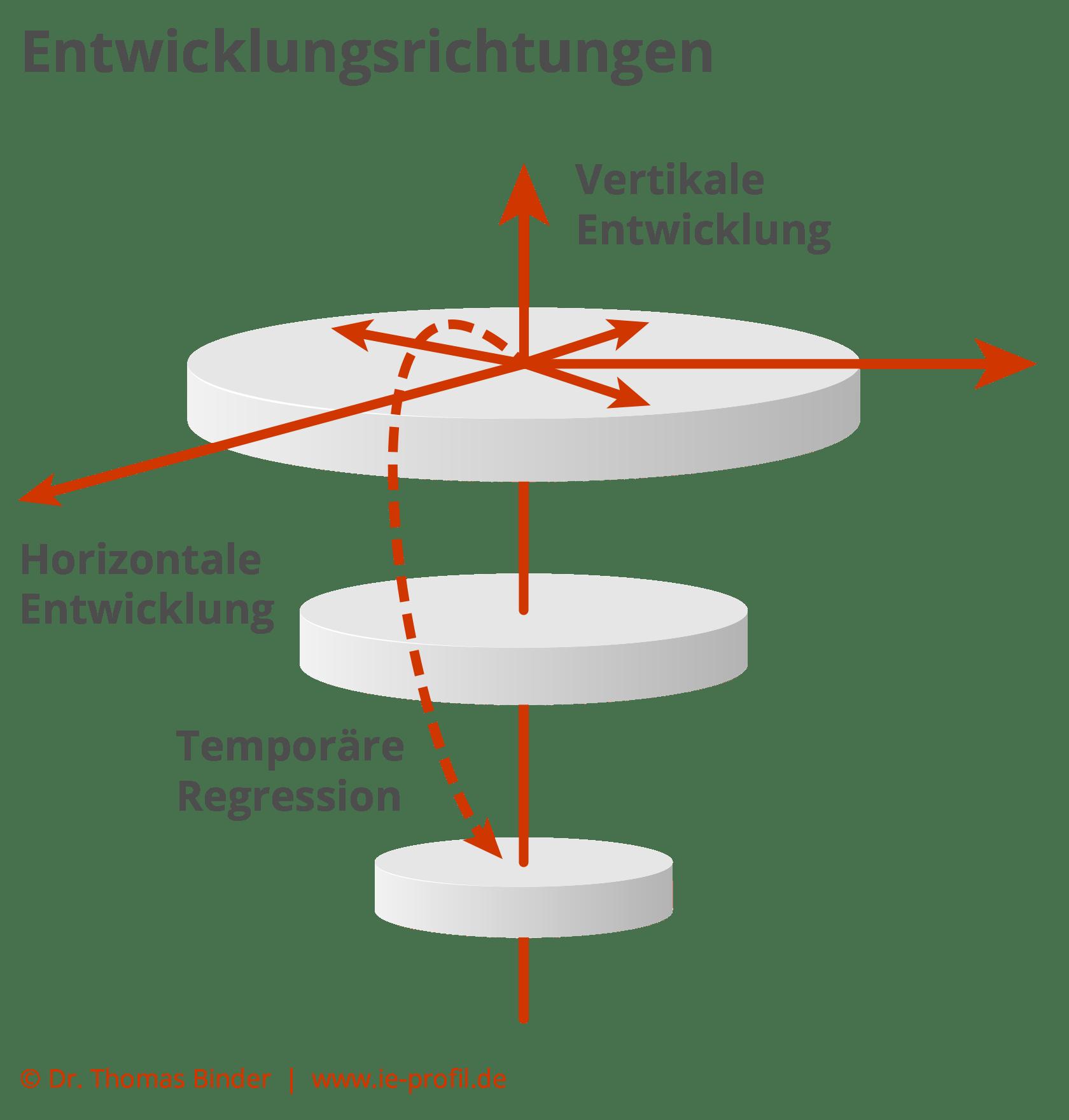 Ich-Entwicklungs-Profil - Entwicklungsrichtungen