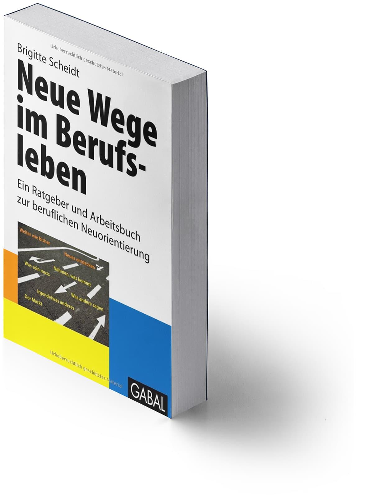 Neue Wege im Berufsleben - Ein Arbeitsbuch zur beruflichen Neuorientierung von Brigitte Scheidt