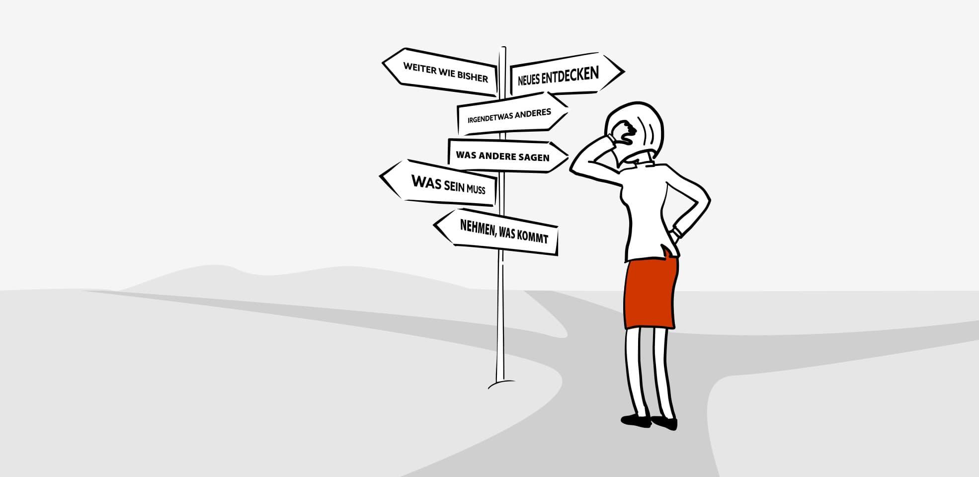 Berufliche Neuorientierung / Berufliche Umorientierung - Beratungsansatz