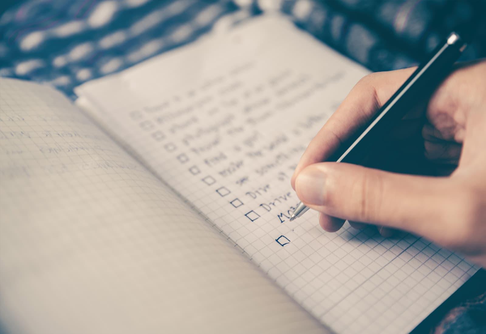 Warum verpuffen gute Vorsätze? Wie kann man gute Vorhaben auch tatsächlich einhalten?